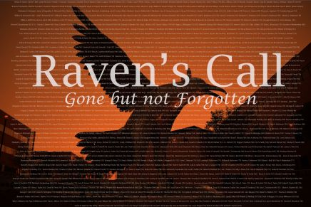 SHSU Honors departed with memorable Raven's Call ceremony