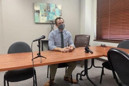 Weekly press conference with Dr. Drew Miller