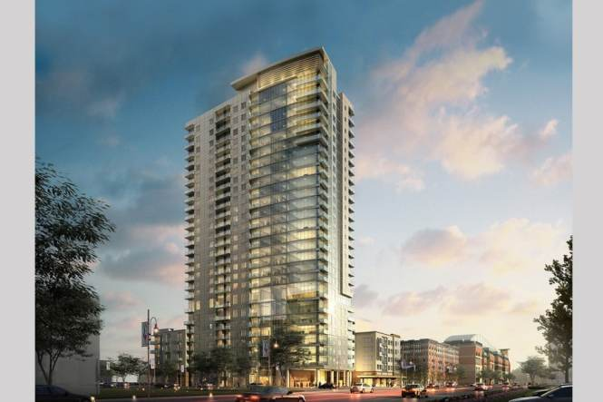 Catalyst High Rise Downtown Houston Luxury Apartments By Mk