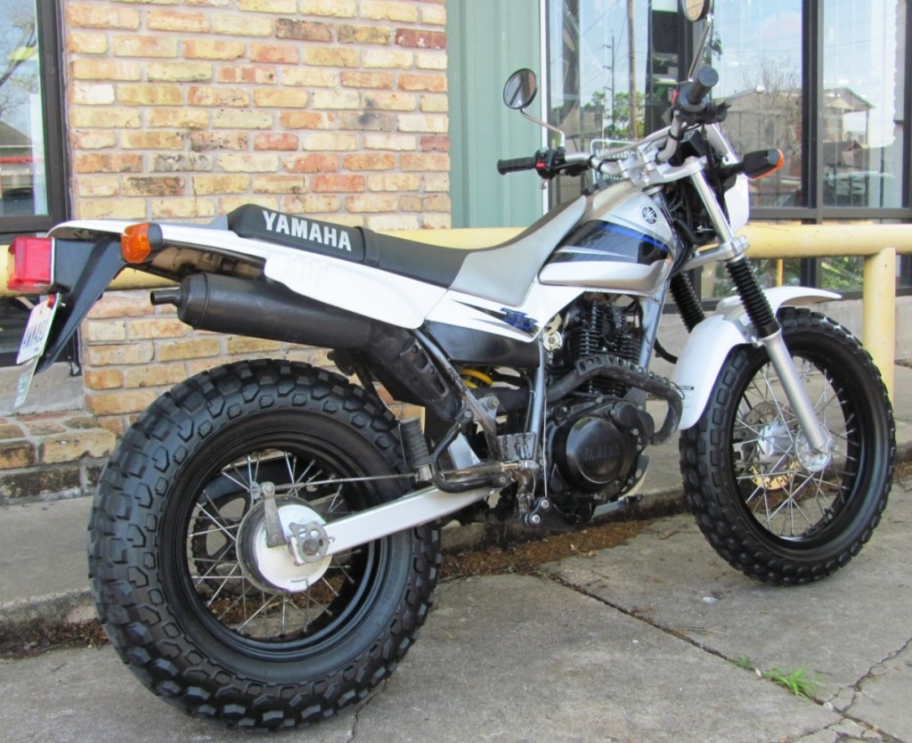 Used Yamaha Tw200 Motorcycle