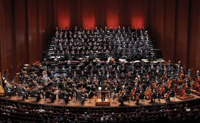 The Houston Symphony Chorus performs Mahler's Resurrection with the orchestra.