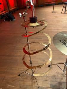 Spiral cymbal