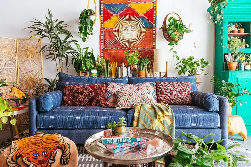 27 Cool Boho Living Room Ideas That Inspire In 2020 Houszed