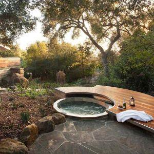 31 amazing backyard hot tub ideas in