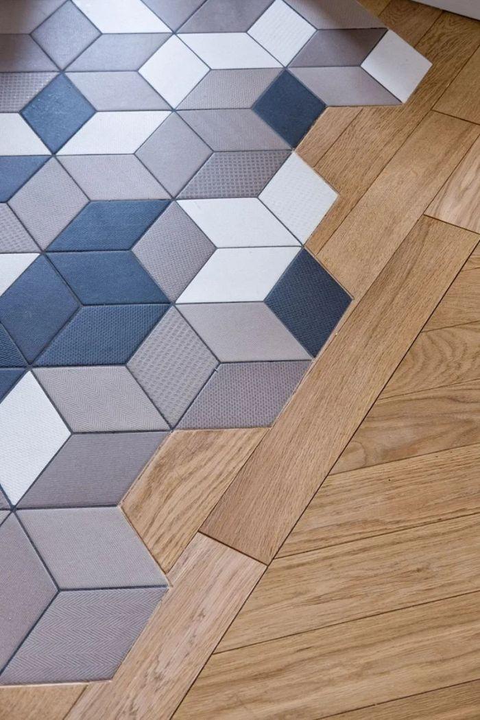 25 stylish floor transition ideas that
