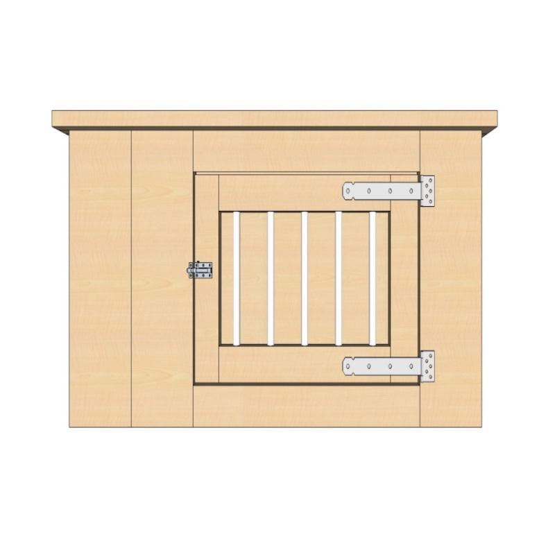 bench 90 cm 1 deur extra smal