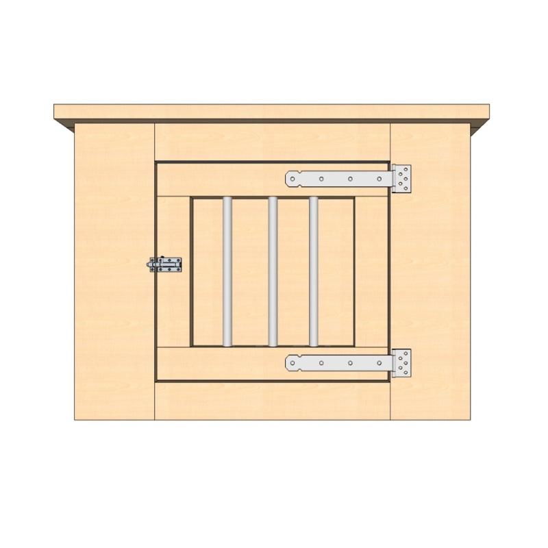 bench 90 cm 1 deur