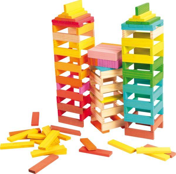 Houten speelgoed blokken