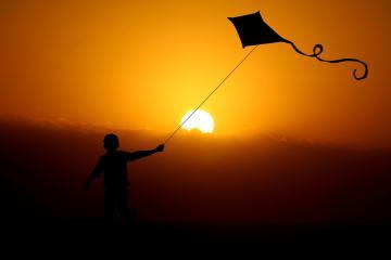 Kind vlieger