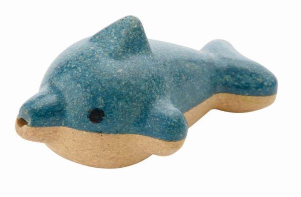 Houten dolfijn fluitje