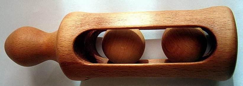 Beuken, ± 10 cm hoog, rammelaar