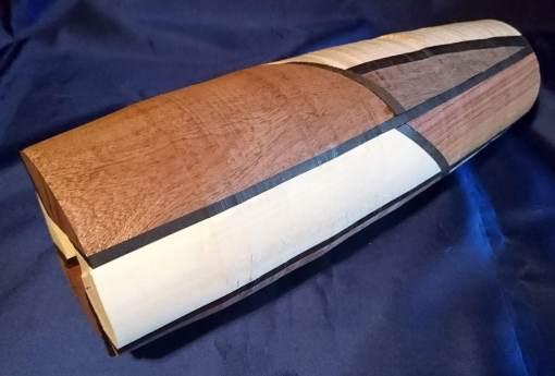 Diverse houtsoorten, 40 cm hoog, zo verlijm je het hout
