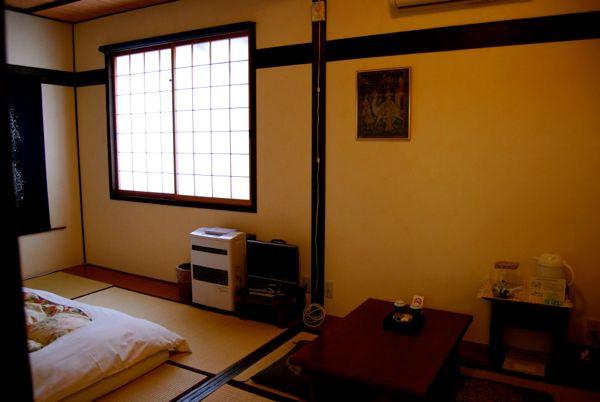 Viaje a Japon: Ryokan en Takayama