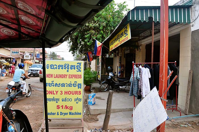 Lavanderia en Siem Reap