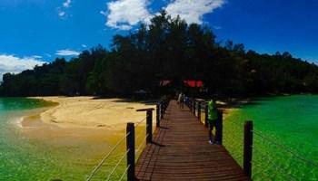 Isla de Sapi en Borneo