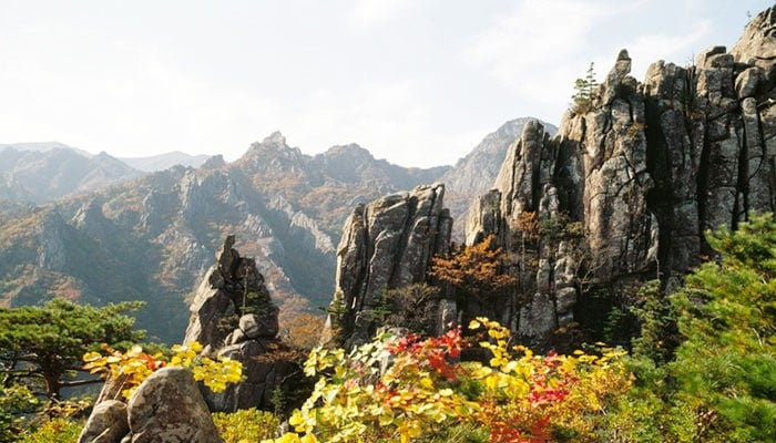 Montaña Seoraksan en Inje, Gangwon-do
