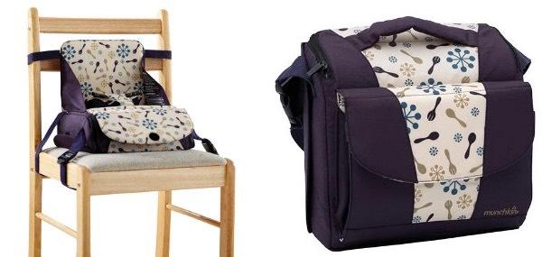 Trona portátil para niños: cómo hacer tu viaje más fácil