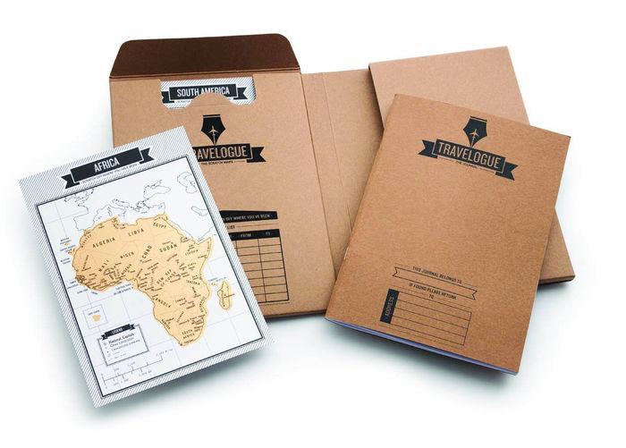 El regalo perfecto para un viajero incansable: Diario de viaje y mini mapas (Travelogue)