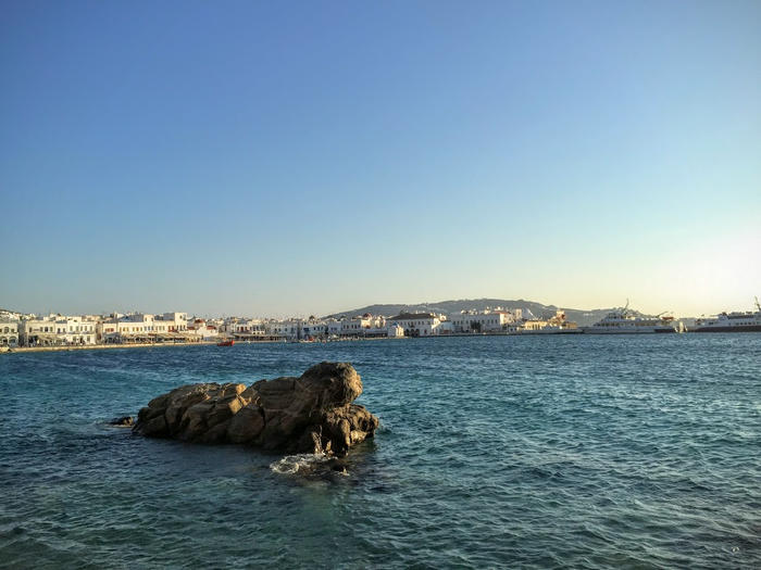 Crucero por las Islas Griegas con el Celestyal Crystal: Mikonos (día 1)