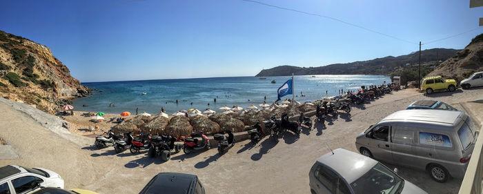 Crucero por las Islas Griegas con el Celestyal Crystal: Milos (día 3) - Playa Provata