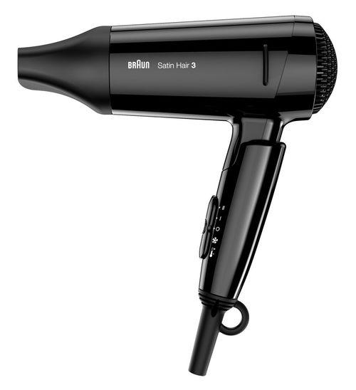 Braun Satin Hair 3 HD350 Style&Go - Secador de viaje