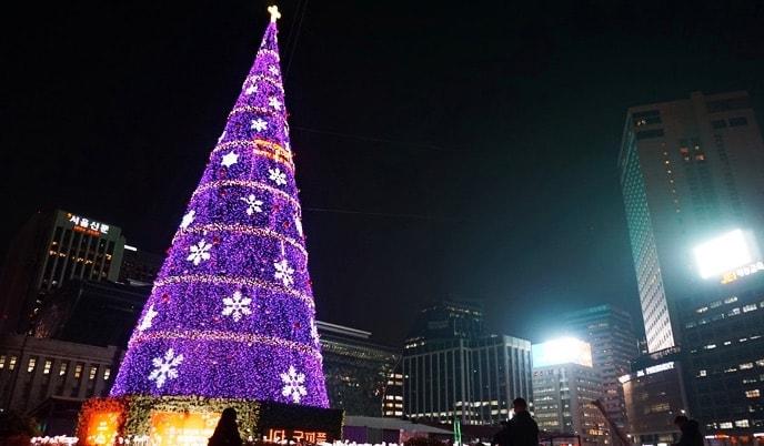 ¿Pensabais que en Japón o Corea del Sur no celebraban la Navidad?