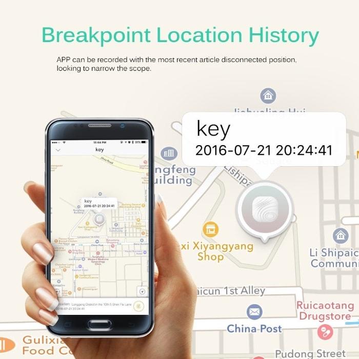 Yarrashop Mini Nut 3 Localizador y rastreador Bluetooth