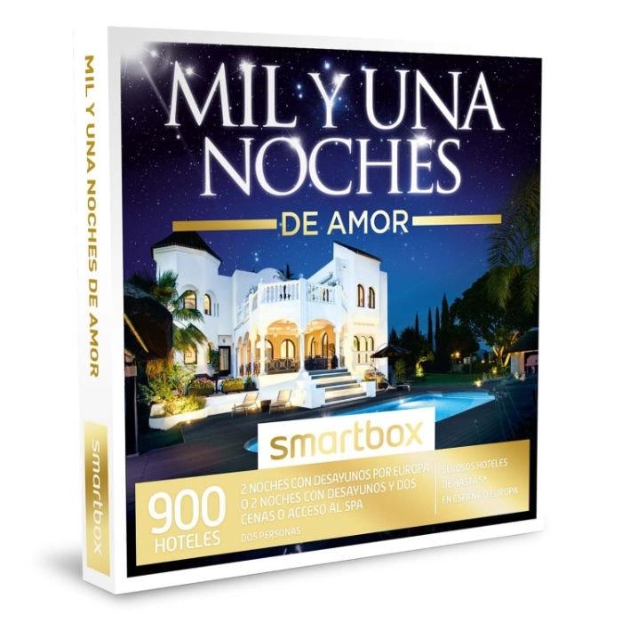 Caja Regalo SMARTBOX - MIL Y UNA NOCHES DE AMOR - 900 lujosos hoteles de hasta 5* en España o Europa