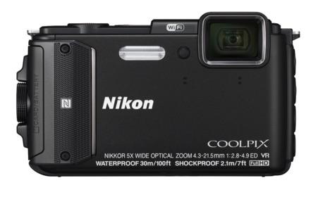 Nikon Coolpix AW130 - Cámara compacta resistente a caidas y al agua