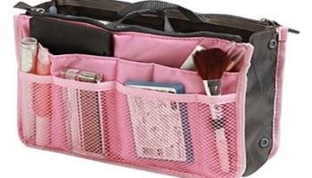 Organizador de cosmeticos para viajes