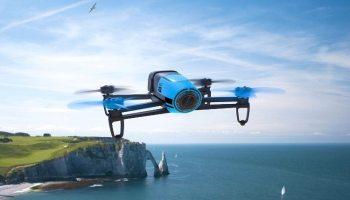 Parrot - Bebop drone, color azul (PF722001AA)