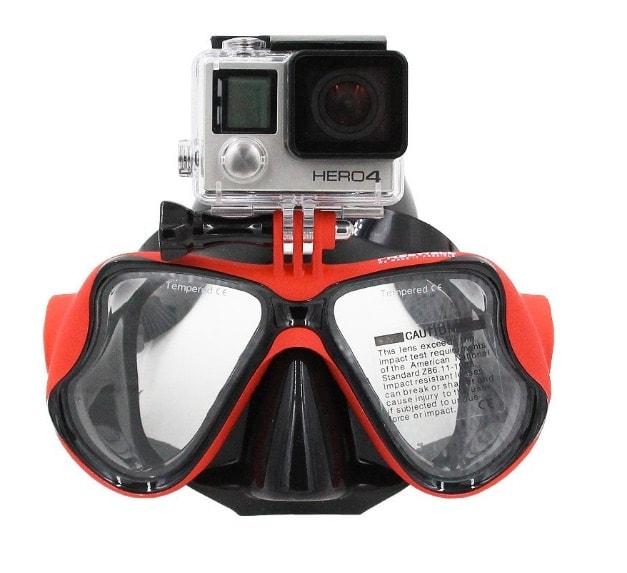 AGPTek - Gafas de buceo compatibles con cámaras GoPro Hero