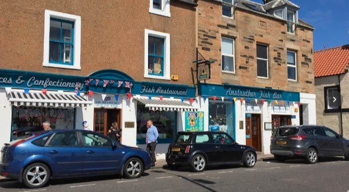 Fish & chips Escocia Fife: anstruther fish bar