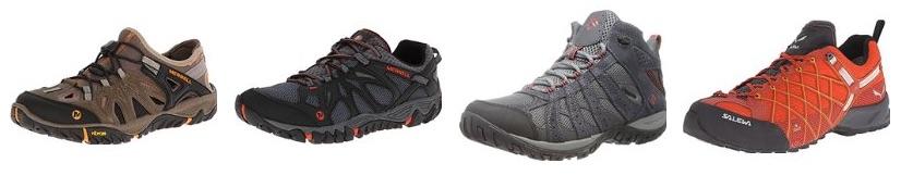 Zapatillas de montaña y senderismo para hombres en oferta