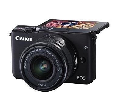 Canon EOS M10 - Cámara compacta con objetivo EF 15-45 mm