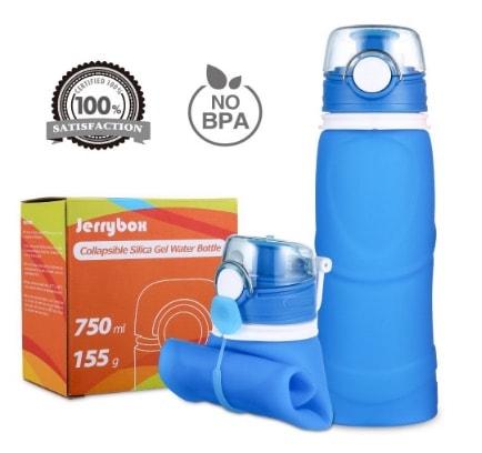 Jerrybox – Botella de Agua Reutilizable de 750ml por menos de 12 euros