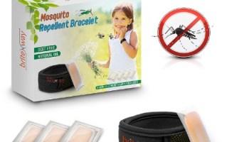 Pulsera repelente de mosquitos de briteNway