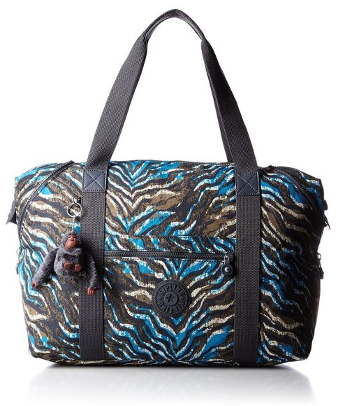 Kipling K01362E40 Bolso Weekend, Color Azul