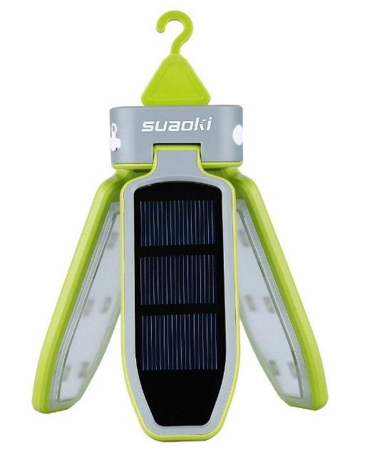 Suaoki - Linterna LED Solar portátil