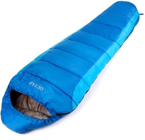 Saco de dormir impermeable hasta -10º C de OUTAD: perfecto para una emergencia