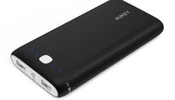 Aukey PB-N15-YYES-N – Batería externa de 20000 mAh
