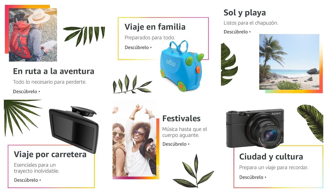 Es el mes del viaje en Amazon España