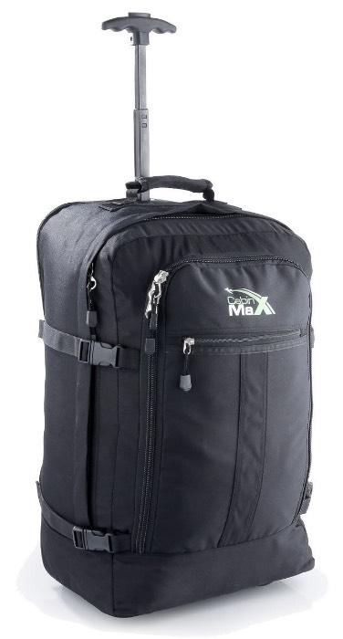 ¿Y si necesitas una maleta mochila?Cabin Max - maleta con ruedas