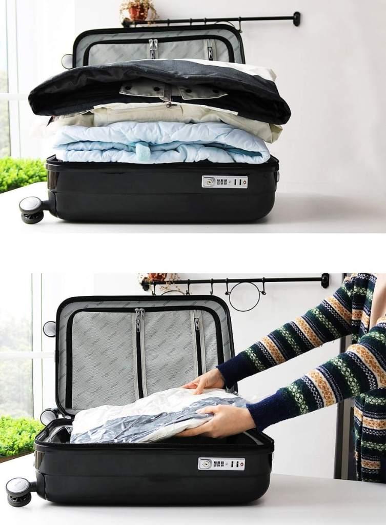 Bolsa para guardar al vacío la ropa de Mountain Forged