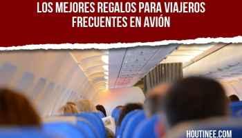 Los mejores regalos para viajeros frecuentes en avión