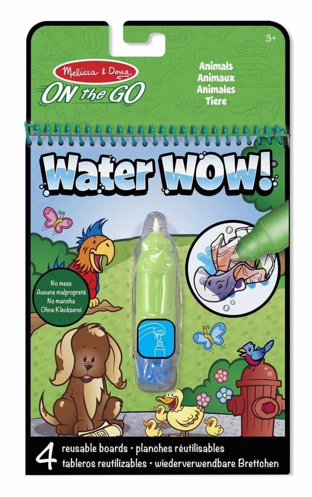 Melissa & Doug Water Wow: bloc para colorear con agua