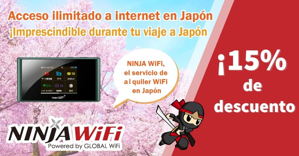 ninja wifi japon: connectante a internet en tu viaje
