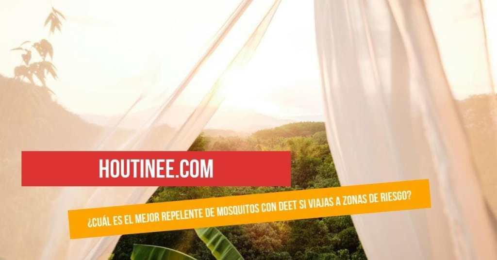 ¿Cuál es el mejor repelente de mosquitos con DEET si viajas a zonas de riesgo?