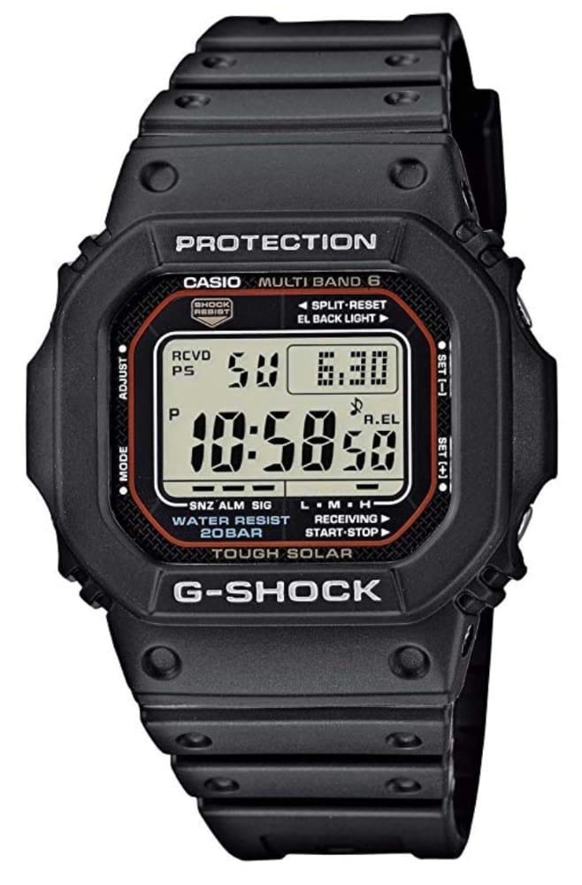 Reloj Casio G-Shock GW-M5610-1ER: el gadget indestructible y fiable para llevar de viaje