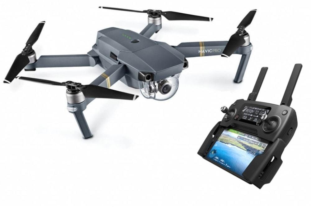 DJI Mavic Pro - Dron cuadricóptero para grabar tu viaje